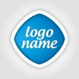 Universal template logo Royalty Free Stock Photos