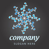 Floriculture company logo Stock Images