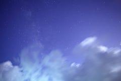 Universal milky way galaxy Royalty Free Stock Photo