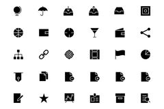 Universal Mobile Vector Icons 4 Stock Image