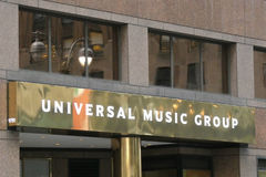 Universal Music Group zdjęcia royalty free