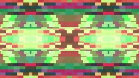 Universal novo do feriado da qualidade da animação horizontal movente macia cor-de-rosa verde brilhante abstrata do fundo do bloc ilustração do vetor
