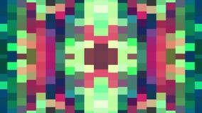 Universal novo do feriado da qualidade da animação vertical movente macia cor-de-rosa verde brilhante abstrata do fundo do bloco  ilustração stock