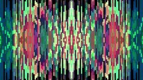 Universal novo do feriado da qualidade da animação vertical movente macia cor-de-rosa verde brilhante abstrata do fundo do bloco  ilustração do vetor