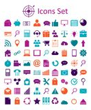 Universal Outline Icons For Web and Mobile. Stock Photos