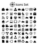 Universal Outline Icons For Web and Mobile. Stock Image
