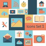 Universal Outline Icons For Web and Mobile. Stock Images