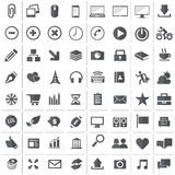 Universal Outline Icons For Web and Mobile Stock Photos