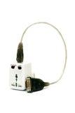 Universal Power Adapter Stock Photo