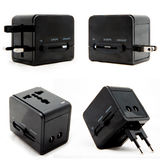 Universal Power Plug Adapter stock photo