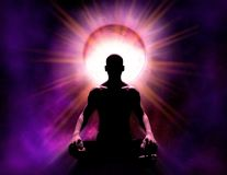 Free Universal Psychic Mind Power Of Meditation And Enlightenment Royalty Free Stock Photo - 149826985