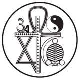 Universal religions symbol Stock Image