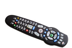 Universal remote control w clipping path Stock Images