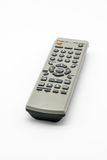 Universal remote control. On white background. Old media player remote controller Stock Photography