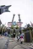 Universal's Islands of Adventure - Orlando/FL - USA. Universal's Islands of Adventure theme park - Doctor Doom's Fear Fall - Orlando/FL - USA Royalty Free Stock Image