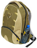 Universal schoolbag Royalty Free Stock Photo