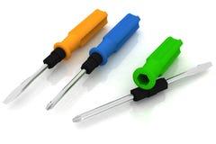Universal screwdriver Royalty Free Stock Image