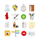 Universal set of icons Royalty Free Stock Photography