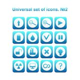 Universal set of icons vector illustration