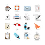 Universal set of web icons Royalty Free Stock Images