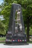 Universal Soldier monument, Battery Park, New York, NY Stock Image
