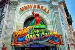 Universal Spaghetti Space Chase facade Stock Photos
