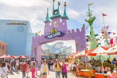 Universal Studio Hollywood park, Los Angeles, usa Obraz Stock