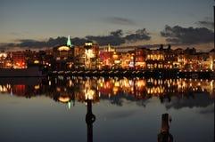 Universal Studio Japonia nocy widok Zdjęcia Stock