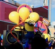 Universal studio minion  osaka japan. Parade of Universal studio ,osaka,japan Stock Image