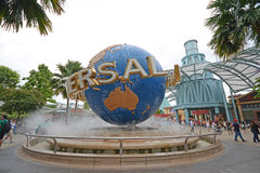 Universal studio at sentosa park, singapore Royalty Free Stock Photo