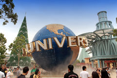 Universal Studio Singapore Stock Images