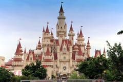 Universal Studio Singapore. Far Far Away Castle in Universal Studio, Singapore,Sentosa Royalty Free Stock Photos