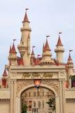 Universal Studio Singapore. Far Far Away Castle in Universal Studio, Singapore,Sentosa Royalty Free Stock Image