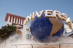 Universal Studio Singapore. Universal Studio entrance with the Universal Globe in Singapore Royalty Free Stock Photo