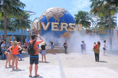 Universal Studio Singapore. In Sentosa island Singapore Royalty Free Stock Photos