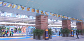 Universal Studio Singapore. In Sentosa Island Singapore Stock Photos