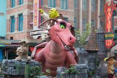 Universal Studio Singapur Zdjęcie Royalty Free