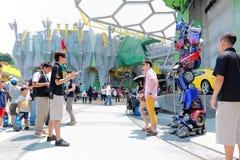 Universal Studio Singapur Fotografia Stock
