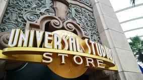 Universal Studio sklep przy universal studio Zdjęcie Stock