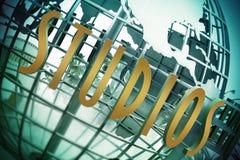 Universal Studio wejście, Hollywood, Los Angeles zdjęcia stock