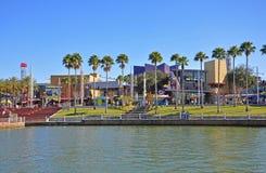 Universal Studios City Walk Orlando, Florida, USA. Universal Studios City Walk in Universal Orlando, Florida, USA stock photo
