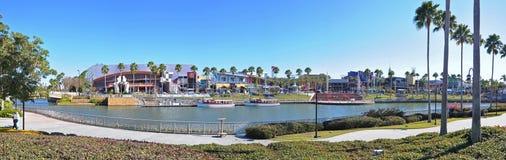 Universal Studios City Walk Orlando, Florida, USA. Universal Studios City Walk panorama in Universal Orlando, Florida, USA stock images