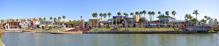 Universal Studios City Walk panorama, Orlando, USA Stock Image