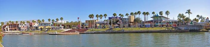 Universal Studios City Walk Orlando, Florida, USA. Universal Studios City Walk panorama in Universal Orlando, Florida, USA royalty free stock photo