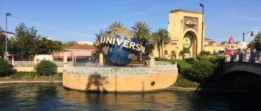 Universal Studios-Eingang in Orlando, FL lizenzfreies stockbild