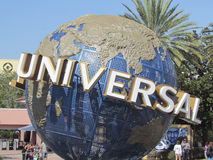 Universal Studios, Florida. Entrance Stock Photography