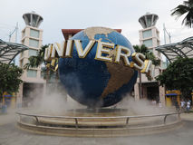 Universal Studios Globe Royalty Free Stock Photos