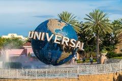 Universal Studios globe Royalty Free Stock Images