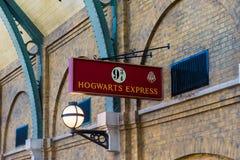 Universal Studios Hogwarts Express Sign Royalty Free Stock Image