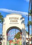Universal Studios of Hollywood Entrance Royalty Free Stock Photo